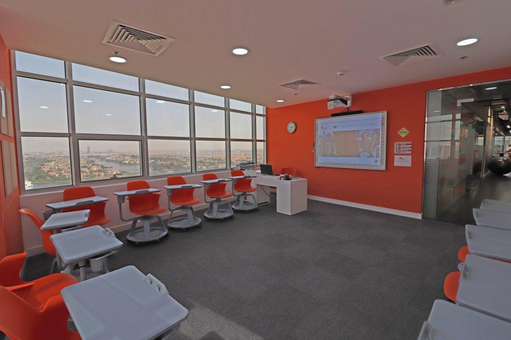 Salle de classe ES Dubaï