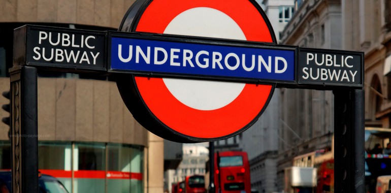 cours anglais voyage langue londres metro