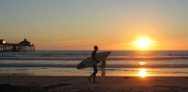 cours anglais voyage langue los angeles surf