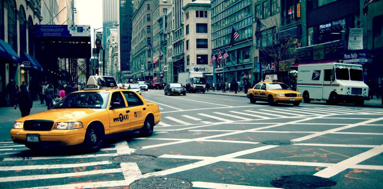 cours anglais voyage langue new york taxis