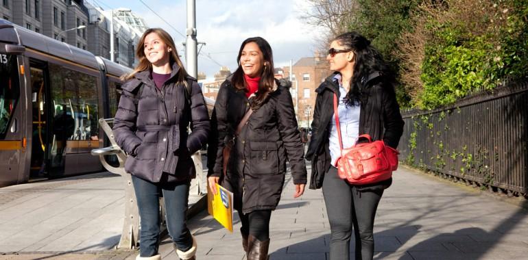 cours anglais IH Dublin etudiantes