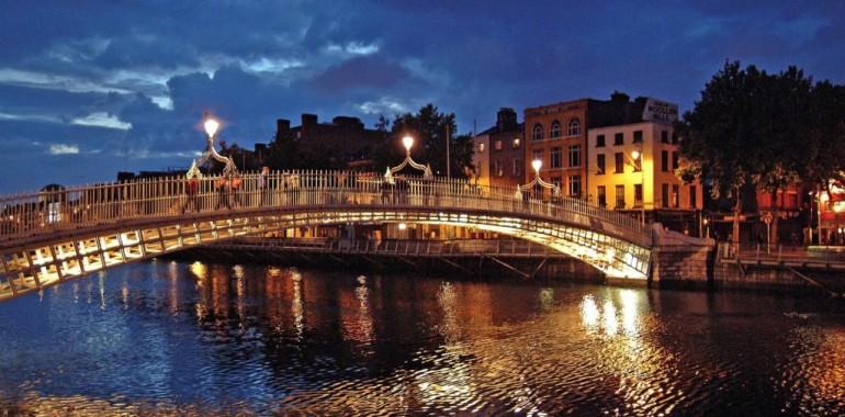 sejour linguistique Dublin nuit