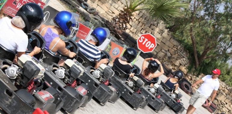 Sejour linguistique junior malte karting