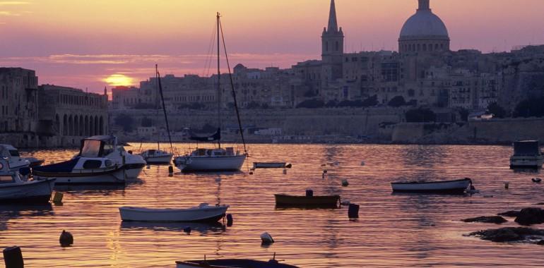 sejour linguistique voyage langue malte port