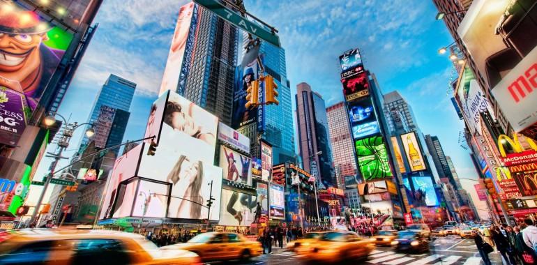 sejour linguistique voyage langue new york times square