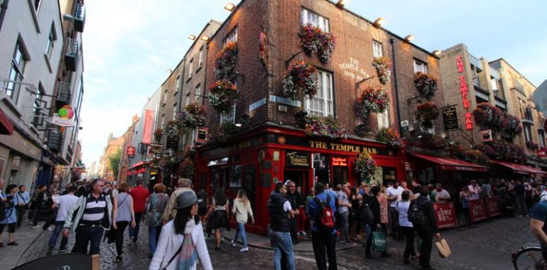 temple bar dublin city voyage langue sejour linguistique