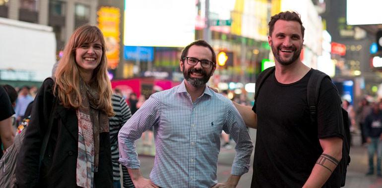 voyage linguistique adulte new york time square
