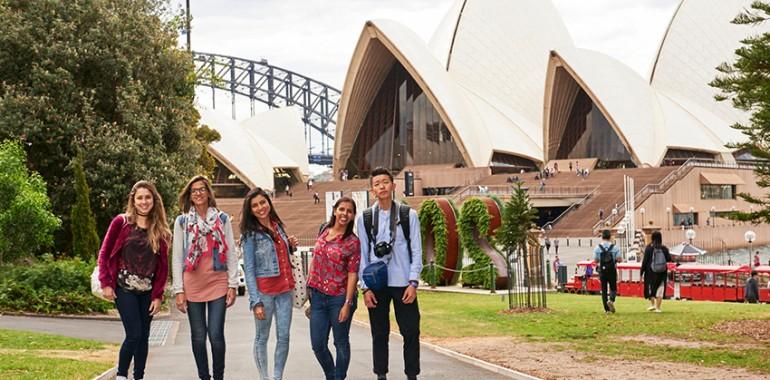 sejour linguistique sydney visite opera house
