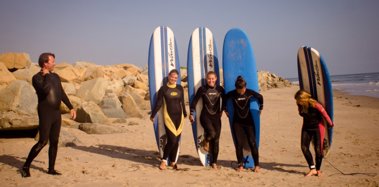 sejour linguistique usa surf santa barbara