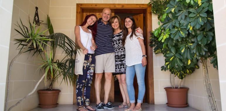 famille d accueil voyage malte adolescent