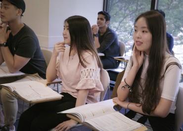 4 mois de cours d'anglais intensif