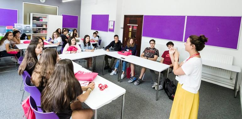 cours d anglais a brighton jeune adolescent