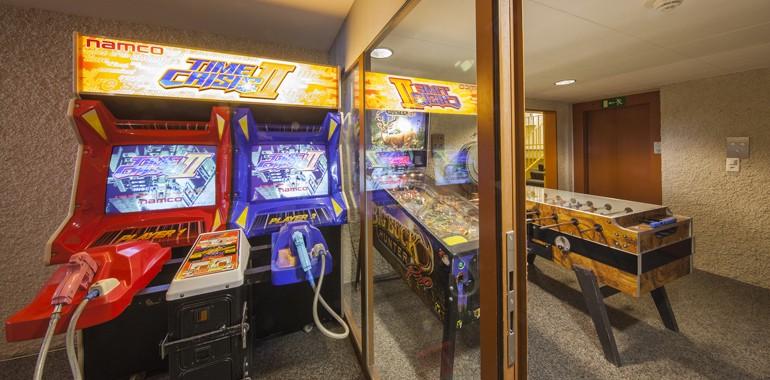 jeu d arcade residence alpadia junior leysin