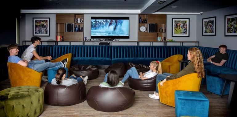 salle de cinema residence sejour linguistique dublin