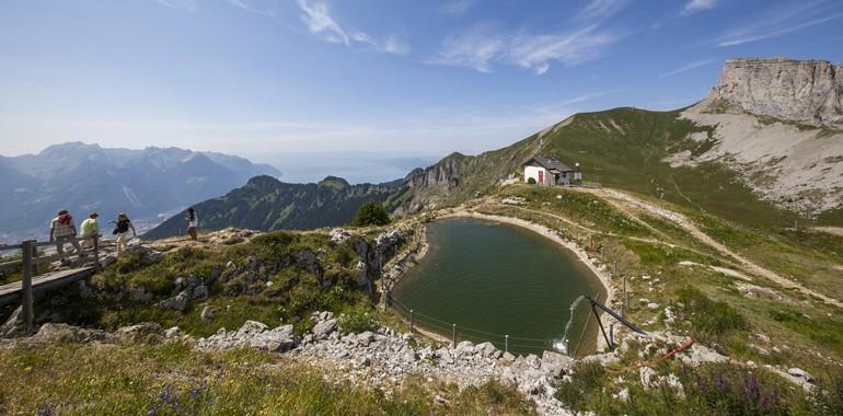 sejour linguistique en suisse randonnee