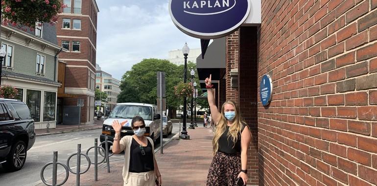 kaplan boston voyage langue