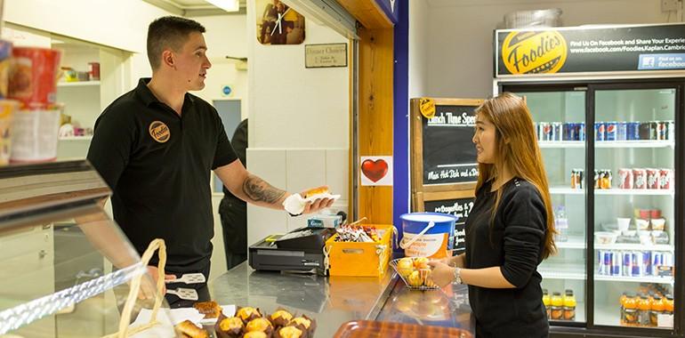 kaplan cmabridge cafeteria