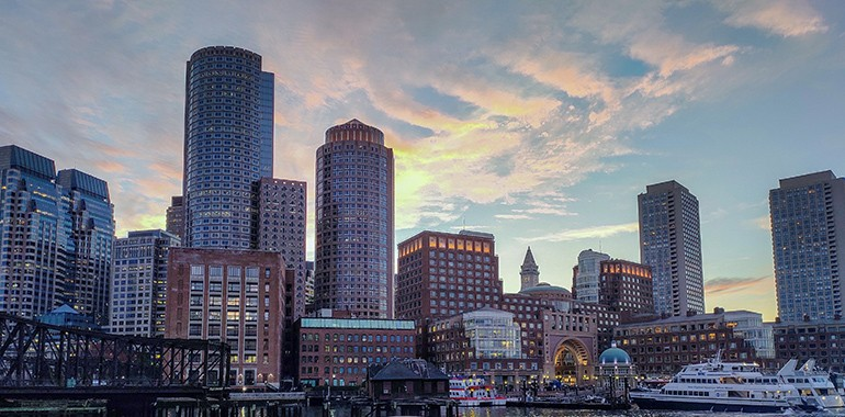 skyline boston voyage linguistique