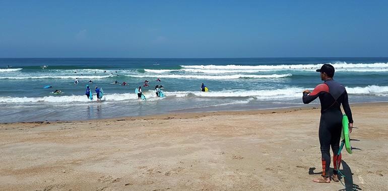 anglais et surf a biarritz sud ouest