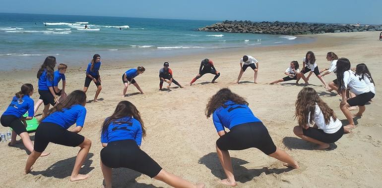apprendre l anglais et surf biarritz