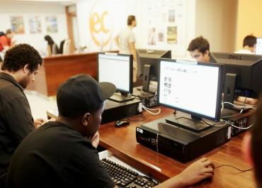 salle informatique en anglais